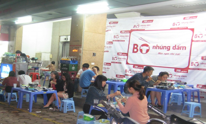 Bò Nhúng Dấm - 318 Phố Huế