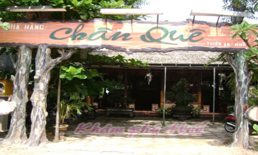 Nhà hàng Chân Quê