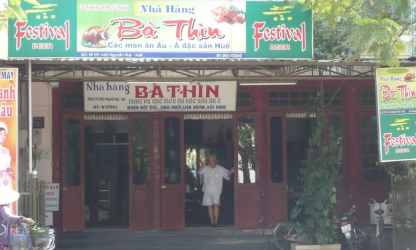 Nhà hàng Bà Thìn