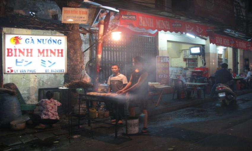 Binh Minh Gà nướng