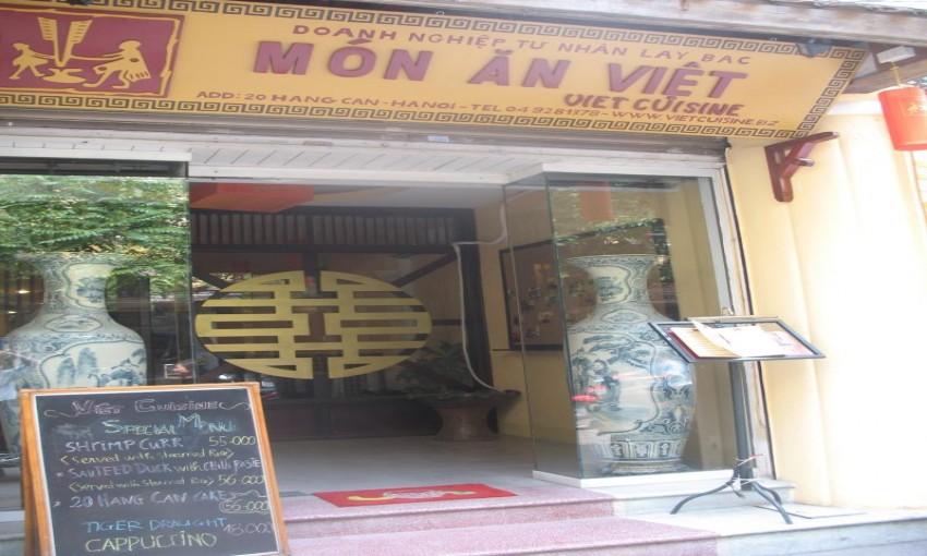Nhà hàng Món Ăn Việt