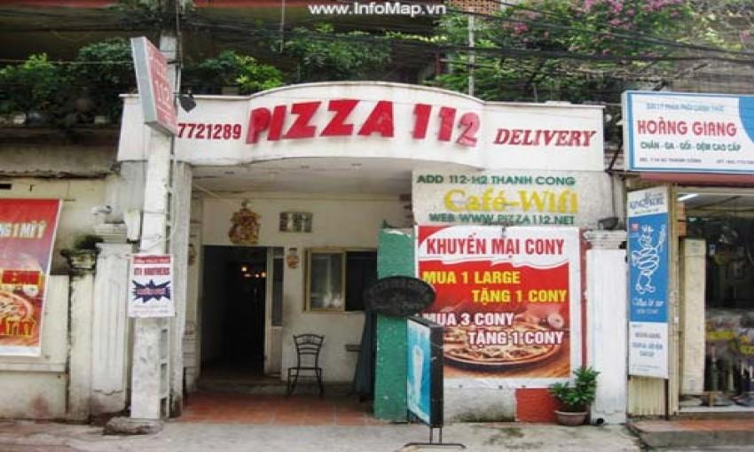 Nhà hàng Pizza 112