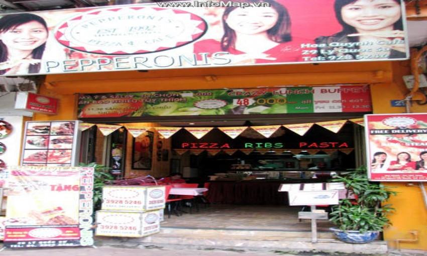 Nhà hàng Pepperonis Pizza & Cafe