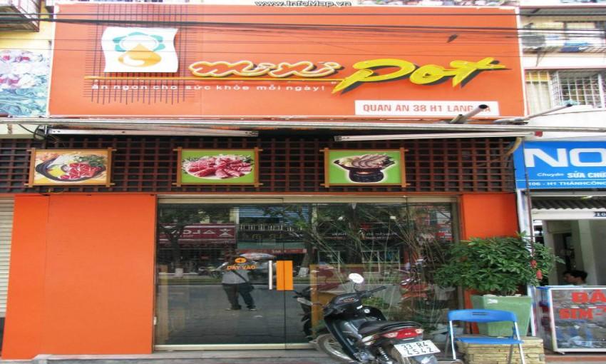 Nhà hàng Lẩu tự chọn Mini Pot