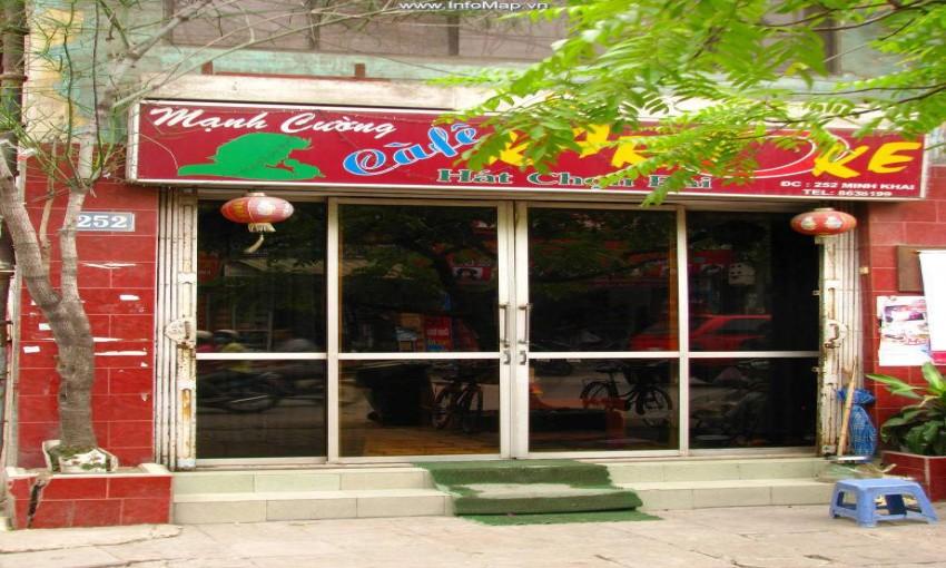 Mạnh Cường - Cafe, karaoke