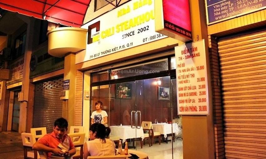 Nhà hàng Cali Steakhouse