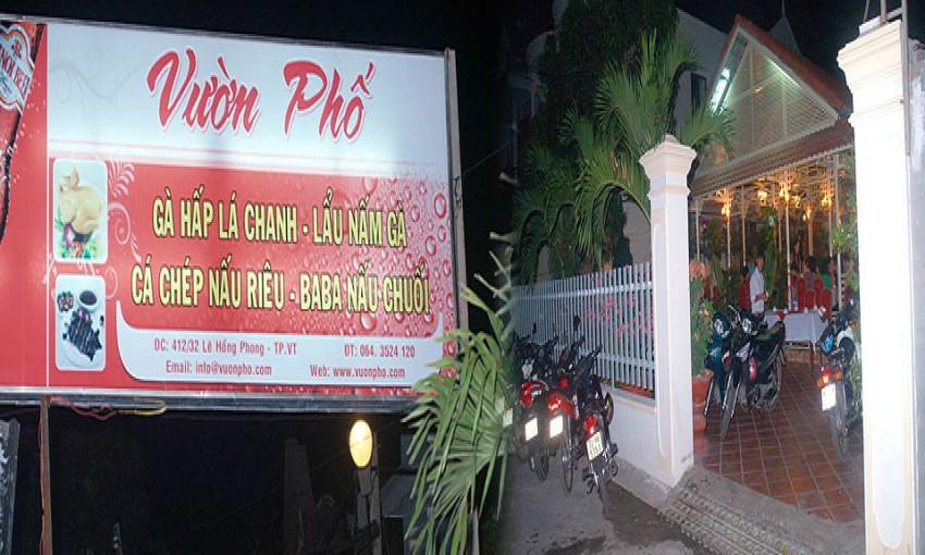 Nhà hàng Vườn Phố