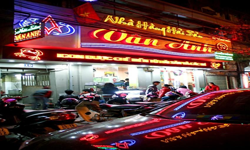 Nhà hàng hải sản Vân Anh