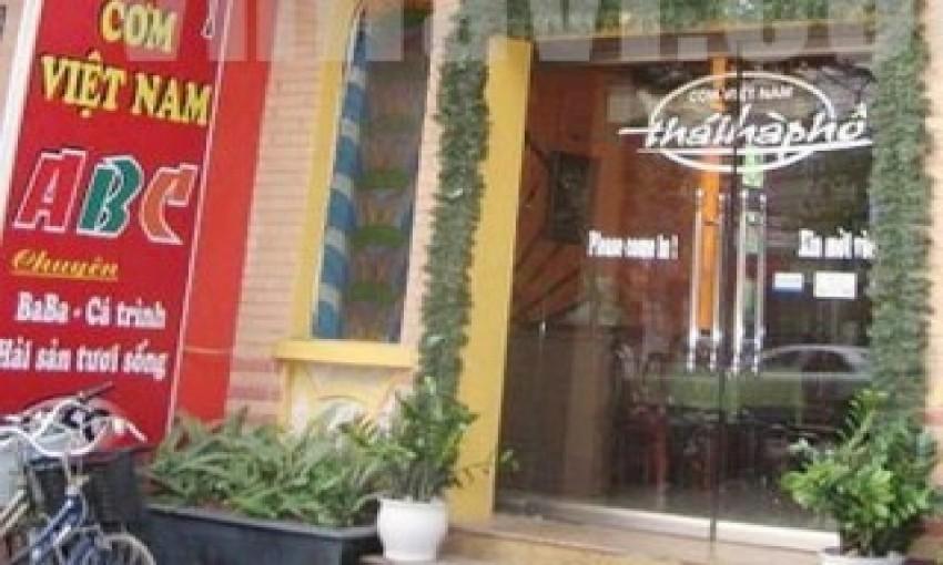 Nhà hàng Thái Hà Phố