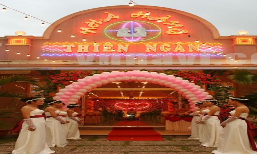 Nhà hàng tiệc cưới Vườn Cau - Thiên Ngân