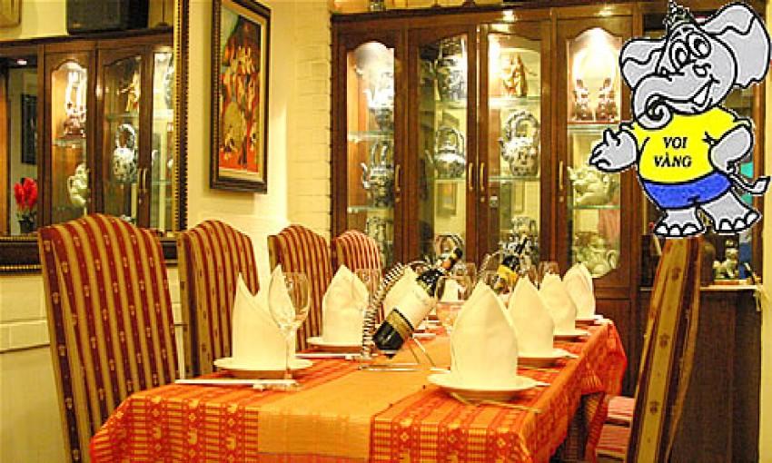 Nhà hàng Con Voi Vàng