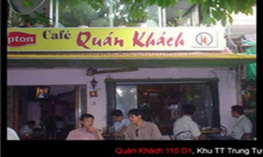 Cafe Quán Khách