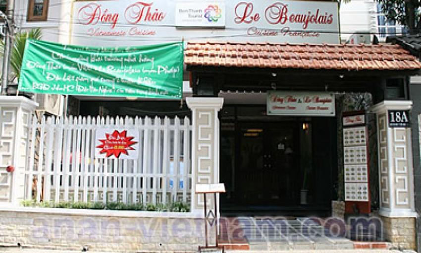 Nhà hàng Le Beaujolais - Đồng Thảo