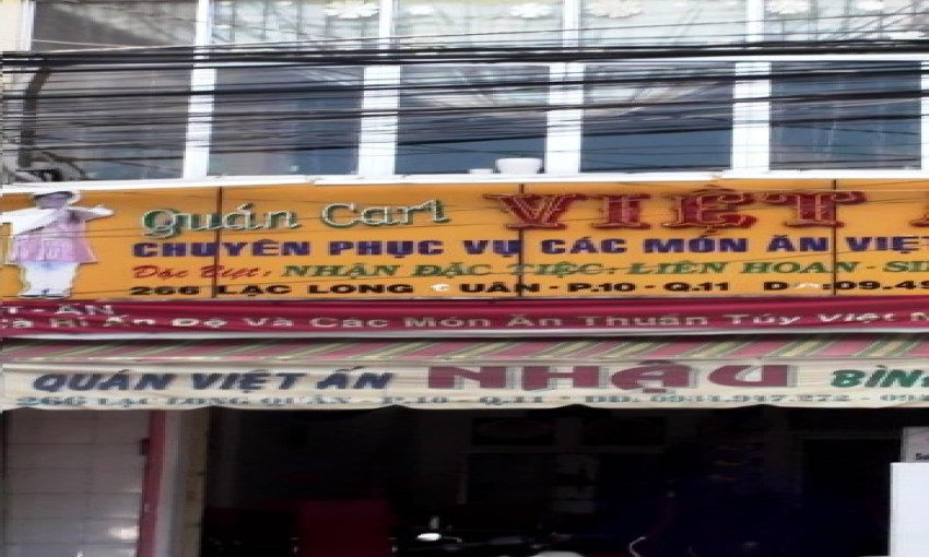 Quán cari Việt Ấn