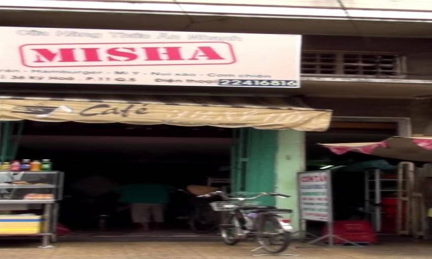 Cửa hàng thức ăn nhanh Misha