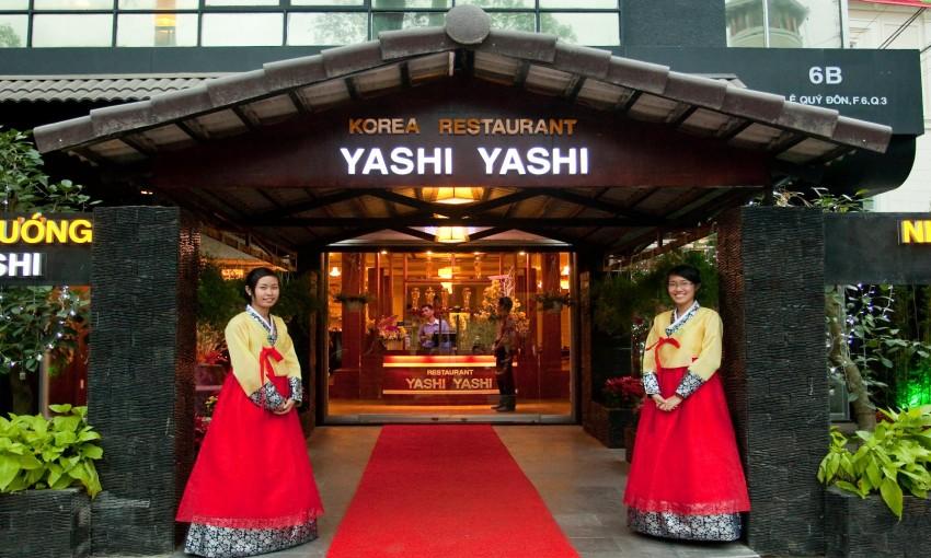 Nhà hàng yashi yashi