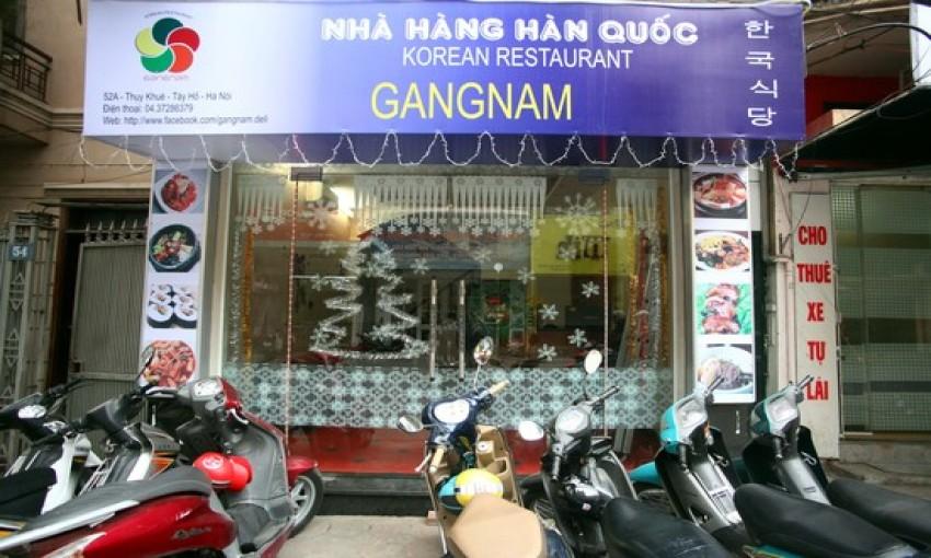 Nhà hàng Hàn Quốc Gangnam
