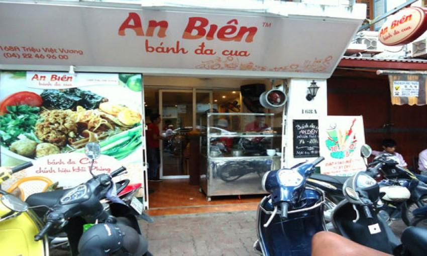 Bánh đa cua An Biên