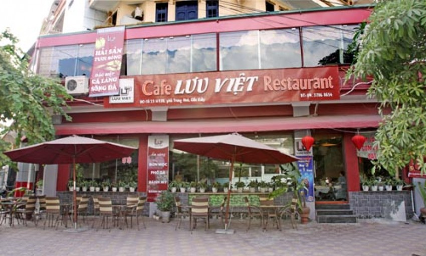 Café nhà hàng Lưu Việt