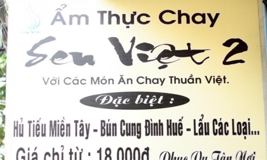 Quán chay Sen Việt 2