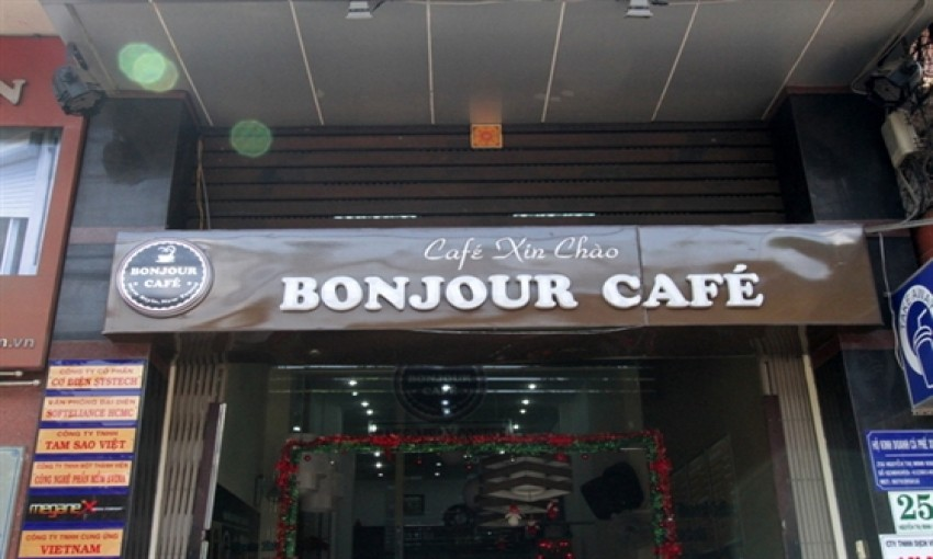 Quán cafe Bonjour
