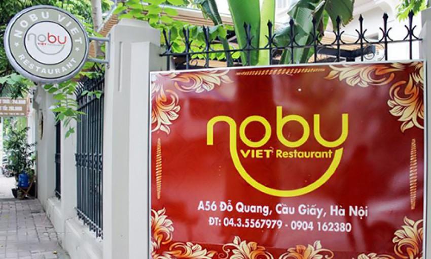 Nhà hàng Nobu Việt