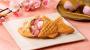 Thưởng thức những chiếc bánh ngọt làm từ hoa anh đào