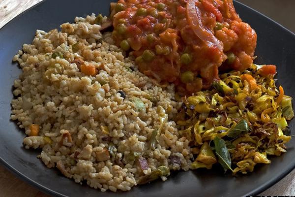 Món cơm Plulao - Ấn Độ