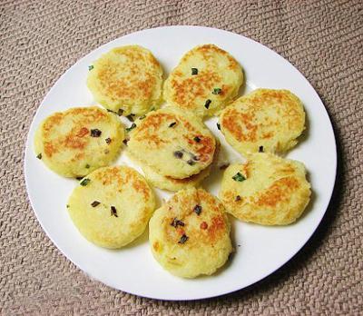 Bánh Khoai Tây Rán Kiểu Hàn Quốc
