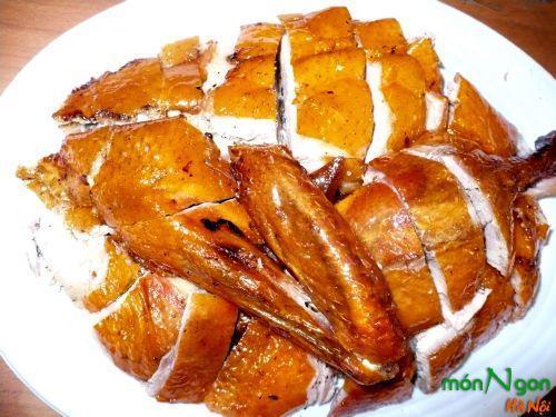 Vịt quay Quảng Châu - tinh hoa ẩm thực của người Trung Hoa