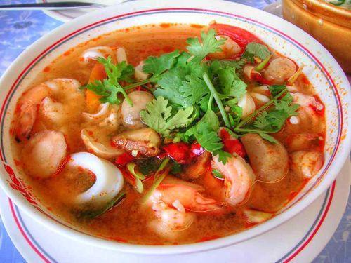 Tom Yam – món cay của người Thái