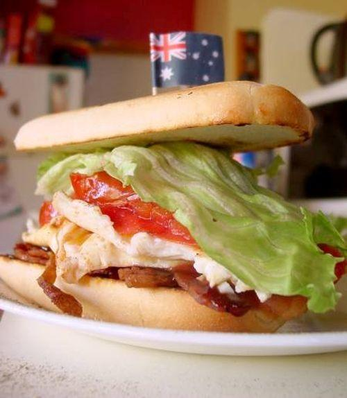Bánh sandwich bò của người Anh