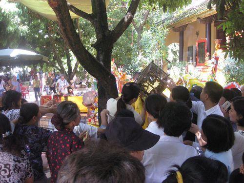 Cỗ chay chùa Bồ Đề