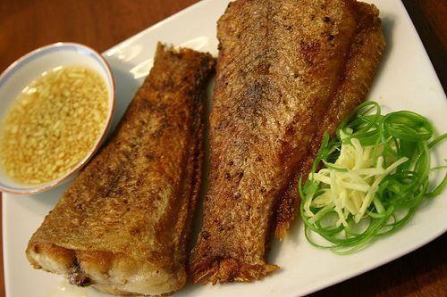 Hương vị mới với cá ngân chiên xả ớt