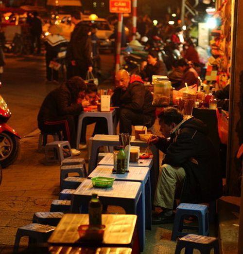 Ăn đêm – Thú vui ẩm thực Hà thành