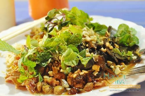 Các quán món trộn ngon nhất Hà Nội