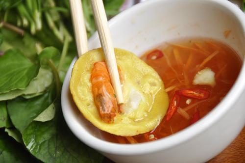 Bánh khọt miền Nam chính hiệu tại Hà Nội