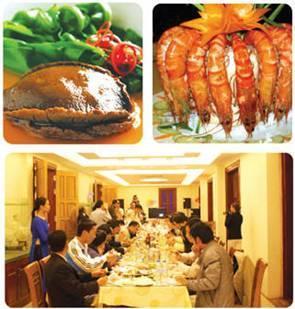 Nhà hàng biển đông: gửi vạn món ngon thay lời tri ân, Ẩm thực,