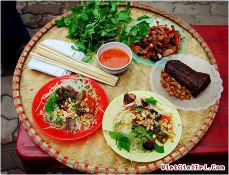 Độc đáo nộm Lim ở Hà Nội
