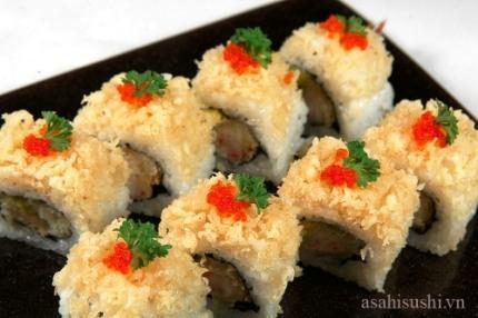 Trọn vẹn hương vị của Sushi.