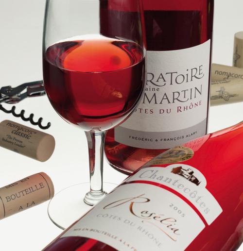 Phân loại rượu vang Pháp - Vang Hồng