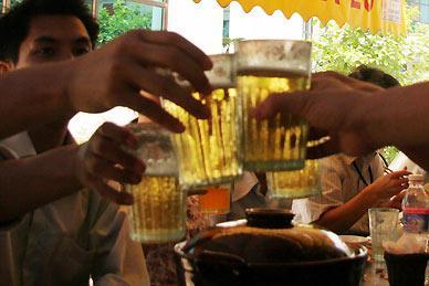 bia hơi vỉa hè