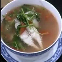 Một món canh cá mới cho ngày hè - Canh cá chẻm