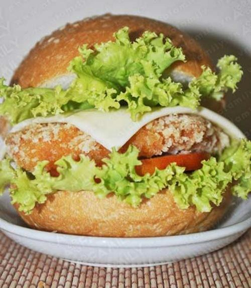 Burger tôm rất đáng để thử