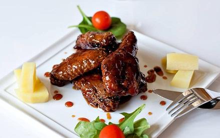 Món ngon ngày tết: Cánh gà xốt gia vị