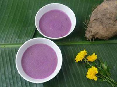 Chè khoai tía - Nét dịu dàng xứ Huế
