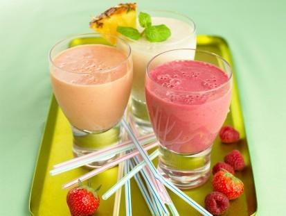 Dinh dưỡng cùng Sinh tố đậu nành hoa quả