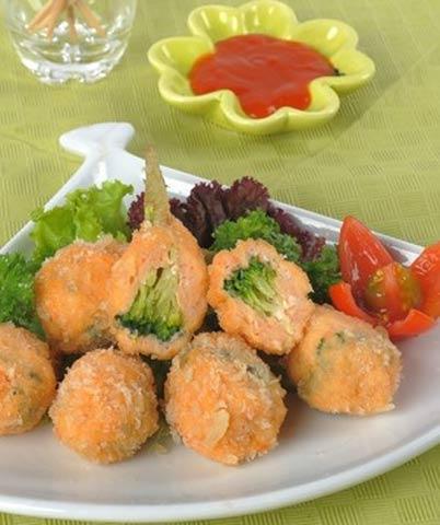 Hướng dẫn cách làm chạo tôm bông cải