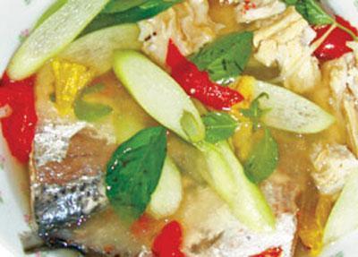 Món ngon Ninh Thuận: Canh cá âm dương