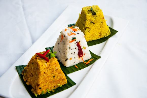 Món Suvai Trio of Assorted Rice